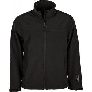 Hi-Tec LUMMER SOFTSHELL JACKET černá XXL - Pánská softshellová bunda