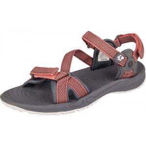 Jack Wolfskin LAKEWOOD RIDE SANDAL černá 6 - Dámské turistické sandály