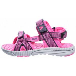 Junior League NOVA fialová 31 - Dětská letní obuv
