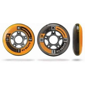 K2 WHEEL 8-PACK 80-82A + ILQ7 SPACER - Sada in-line ložisek a koleček
