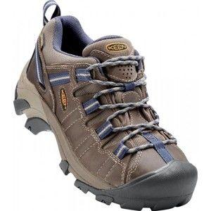 Keen TARGHEE II WP W hnědá 6.5 - Dámská celoroční nízká outdoorová obuv