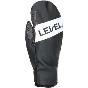 Level WEB MITT šedá 10 - Pánské lyžařské rukavice