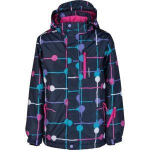 Lewro LOGAN tmavě modrá 140-146 - Dětská snowboardová bunda