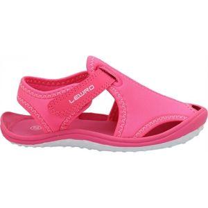 Lewro MELLOW růžová 31 - Dětské sandály
