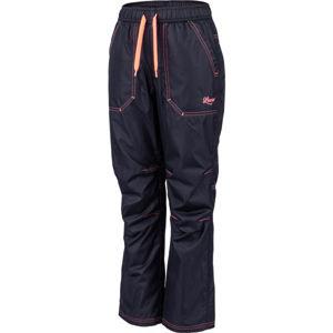 Lewro ZOWIE modrá 164-170 - Dětské zateplené kalhoty