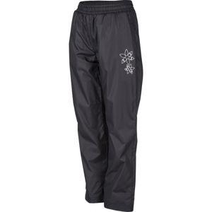 Lewro LIRON 140-170 tmavě šedá 140-146 - Dětské zateplené kalhoty