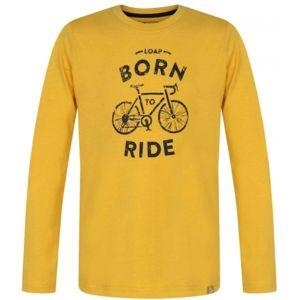 Loap AROLAS žlutá 158-164 - Chlapecké triko