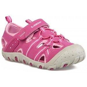 Loap GRUMPY růžová 29 - Dětské letní sandály