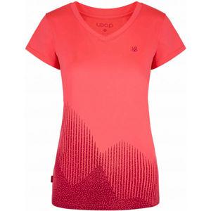 Loap MINETT růžová XS - Pánské technické triko