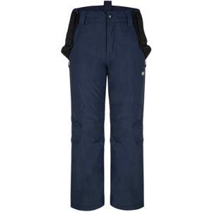 Loap FUXI modrá 128 - Dětské lyžařské kalhoty
