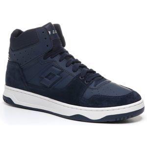 Lotto BASKET TOP NU tmavě modrá 10 - Pánská kotníková obuv