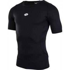 Lotto CORE SS CREW BASELAYE černá XL - Pánské sportovní triko