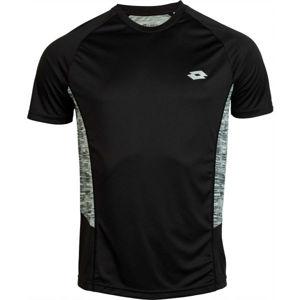 Lotto SPEEDRUN II TEE RGL PL černá L - Pánské tričko