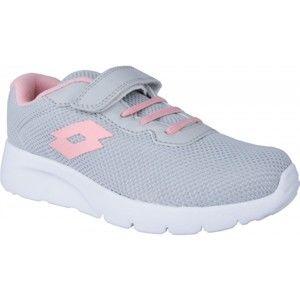 Lotto MEGALIGHT CL SL růžová 27 - Dětská volnočasová obuv