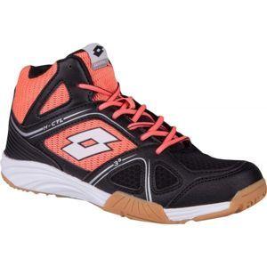 Lotto JUMPER 400 II W MID černá 9.5 - Dámská sálová obuv