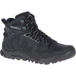 Merrell ANNEX TRAK V MID WP černá 10 - Pánské outdoorové boty