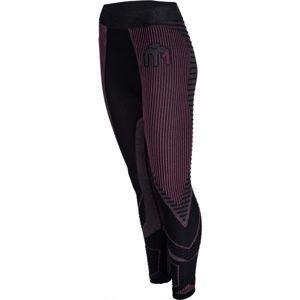 Mico 3/4 TIGHT PANTS M1 černá M-L - Dámské spodní kalhoty