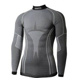 Mico L/SLEEVES MOCK NECK SHIRT černá XS/S - Funkční spodní triko
