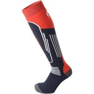 Mico SUPERTHERMO JNR modrá L - Juniorksé lyžařské ponožky