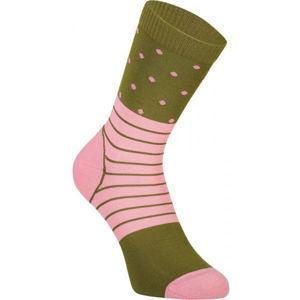 MONS ROYALE ALL ROUNDER CREW  M - Dámské technické merino ponožky