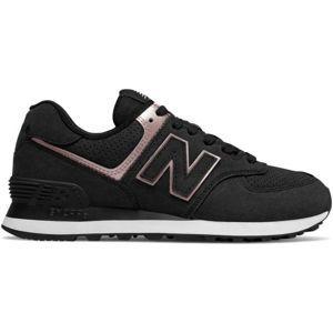New Balance WL574NBK - Dámská volnočasová obuv
