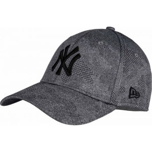 New Era 39THIRTY ENGINEERED PLUS NEW YORK YANKEES šedá M/L - Pánská klubová  kšiltovka