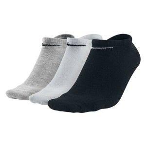 Nike 3PPK VALUE NO SHOW bílá 38-42 - Ponožky