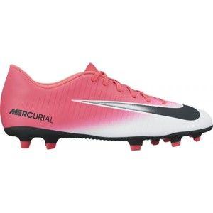 Nike MERCURIAL VORTEX III FG růžová 11 - Pánské kopačky