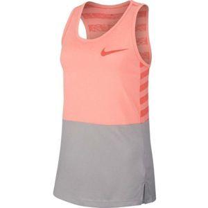Nike DRY TANK MDS - Dívčí tréninkové tílko