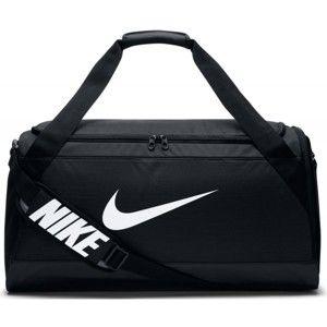 Nike BRASILIA MEDIUM DUFFEL černá M - Sportovní taška