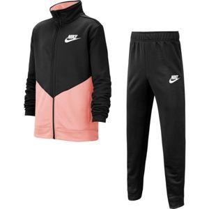 Nike B NSW CORE TRK STE PLY FUTURA růžová M - Dětská sportovní souprava