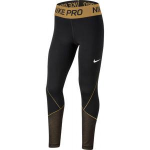 Nike NP WM TGHT SS G  L - Dívčí legíny
