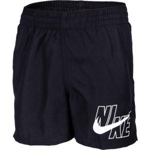 Nike LOGO SOLID LAP černá S - Chlapecké plavky