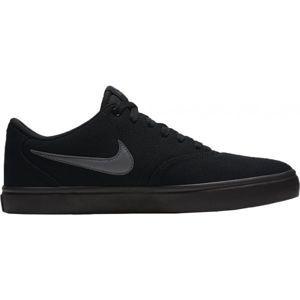 Nike SB CHECK SOLAR CANVAS černá 9 - Pánská skateboardová obuv
