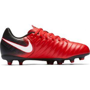 Nike TIEMPO RIO FG JR červená 4.5Y - Dětské kopačky