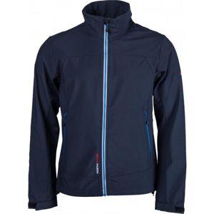 Northfinder ALEC modrá M - Pánská softshellová bunda