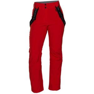 Northfinder TODFYSEA červená L - Dámské lyžařské kalhoty