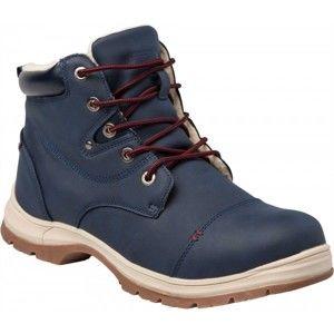 Numero Uno MARTEN M modrá 40 - Pánská zimní obuv - zateplená