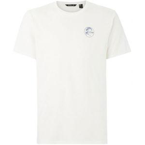 O'Neill LM ORIGINALS LOGO T-SHIRT bílá XL - Pánské tričko
