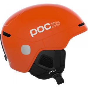 POC POCito OBEX SPIN oranžová (51 - 56) - Dětská lyžařská helma
