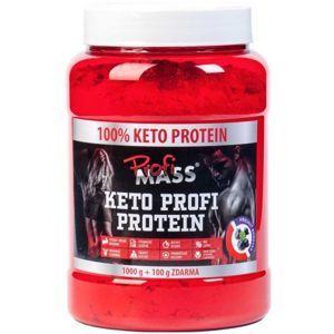 Profimass KETO PROFI PROTEIN 1000+100G BORŮVKA  NS - Protein