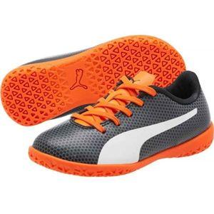 Puma SPIRIT IT JR černá 1 - Juniorská sálová obuv