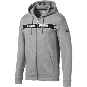 Puma AMPLIFIED HOODED JACKET - Pánská mikina