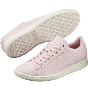 Puma VIKKY CV růžová 3 - Dámské vycházkové boty