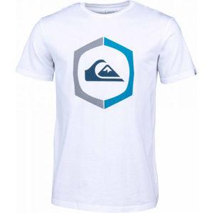Quiksilver SURE THING SS bílá XL - Pánské tričko