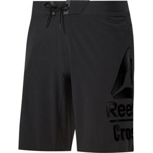 Reebok RC EPIC BASE SHORT LG BR černá 2XL - Pánské šortky