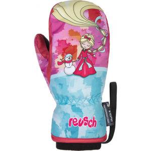 Reusch FRANCI R-TEX XT MITTEN růžová 5 - Dětské zimní rukavice