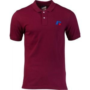 Russell Athletic CLASSIC POLO WITH SLANTED R SATINE EMBROIDERY - Pánské polo tričko