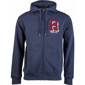 Russell Athletic ZIP THROUGH HOODY  - R CHENILLE EMBROIDERY - Pánská mikina