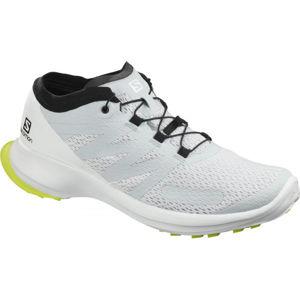 Salomon SENSE FLOW bílá 11 - Pánské trailové boty